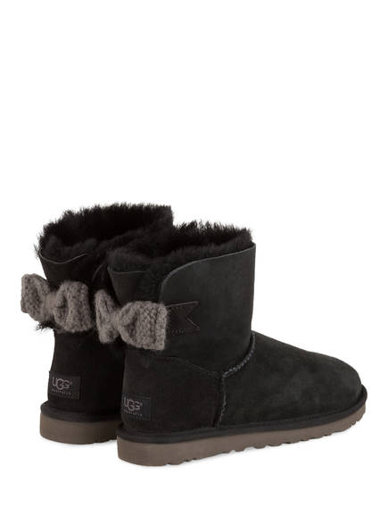 ugg official women 39 s mini bailey knit bow footwear. Black Bedroom Furniture Sets. Home Design Ideas